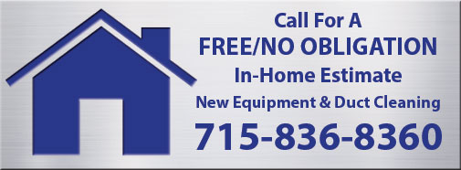 image of aluminum badge with 'Call For A FREE/NO OBLIGATION In-Home Estimate