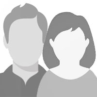placeholder image (clip-art) of generic man and woman for testimonial